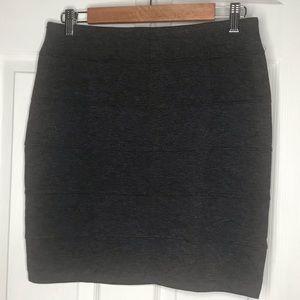 Windsor Gray Pencil Skirt sz L